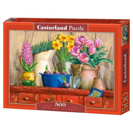 Puzzle Spring Floral - 500 dílků