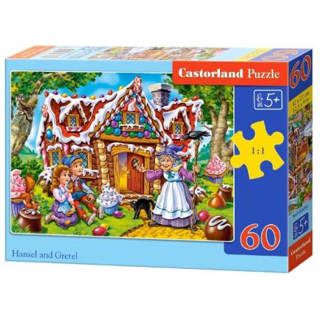 Puzzle Perníková chaloupka - 60 dílků