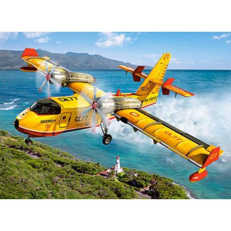 Puzzle Fire Fighting Aircraft - 300 dílků