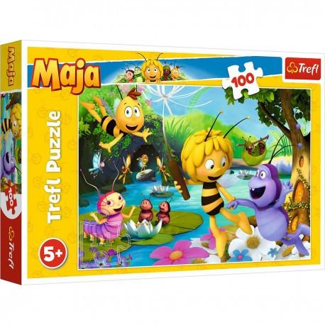 Puzzle Včelka Mája - 100 dílků