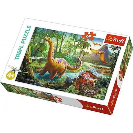 Puzzle Dinosauři - 60 dílků
