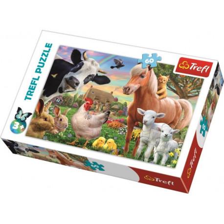 Puzzle Farma - 60 dílků