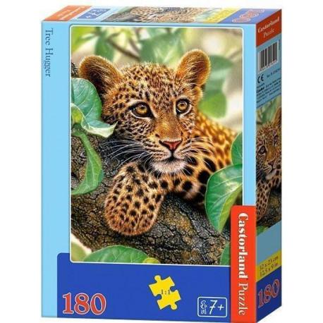 Puzzle Tree Hugger/Tygřík na stromě - 180 dílků