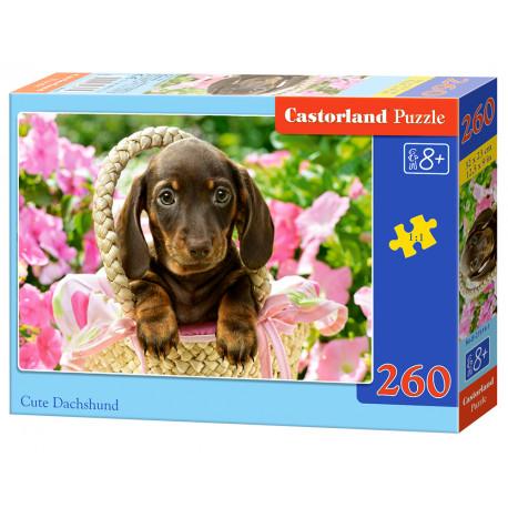 Puzzle Roztomilé štěně - 260 dílků