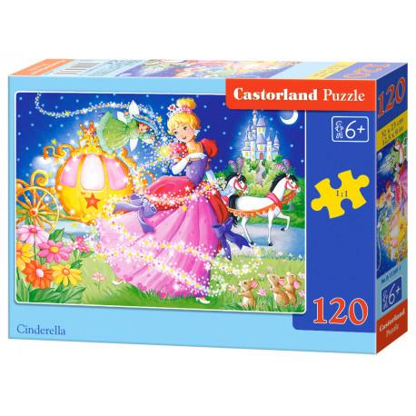 Puzzle Popelka - 120 dílků
