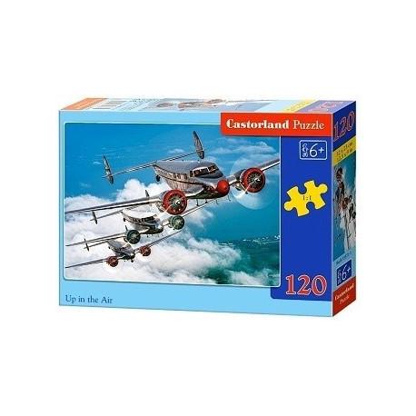 Puzzle Letadla - 120 dílků