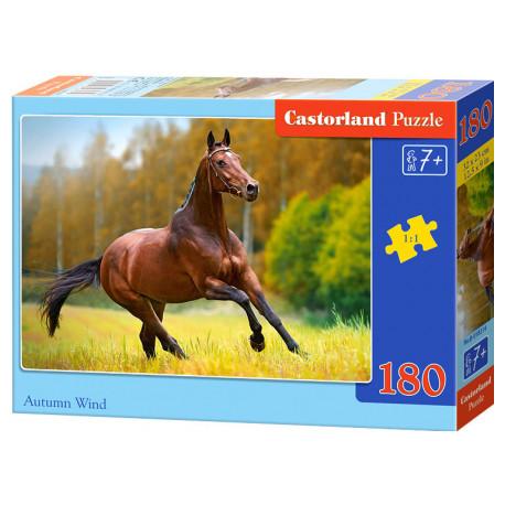 Puzzle Hnědý kůň - 180 dílků