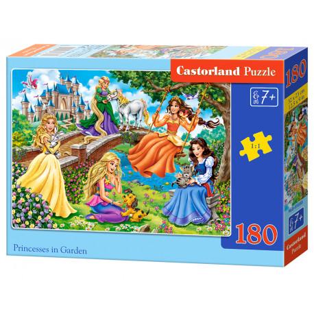 Puzzle Princezny v zahradě - 180 dílků