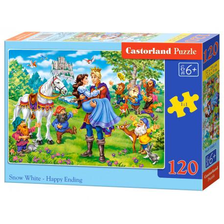 Puzzle Sněhurka - 120 dílků