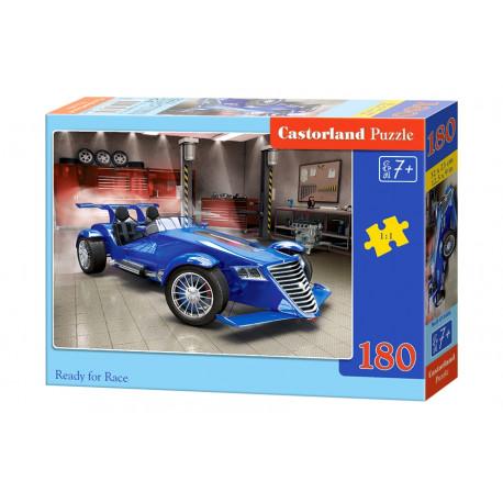 Puzzle Ready to Race/Závodní auto - 180 dílků