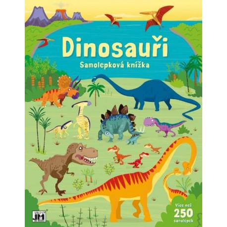 Velká samolepková knížka - Dinosauři