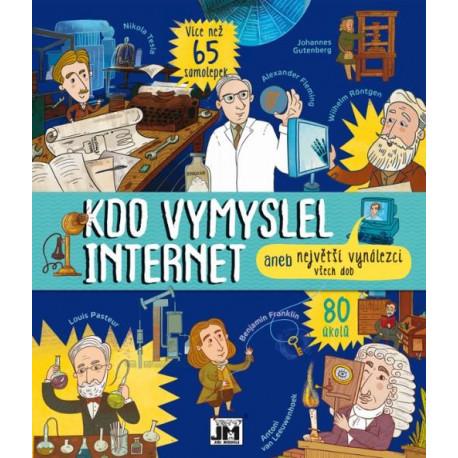 Kniha aktivit - Kdo vymyslel internet