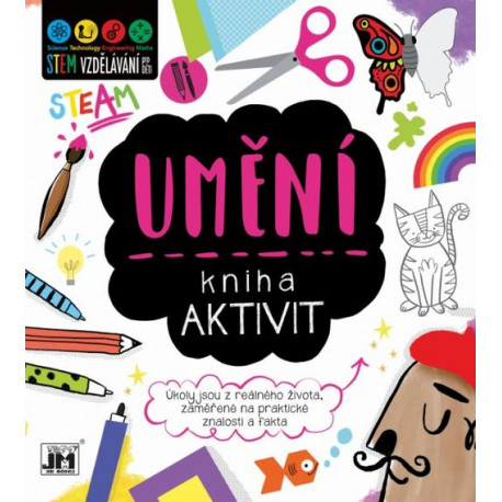 Kniha aktivit - Umění (STEM)