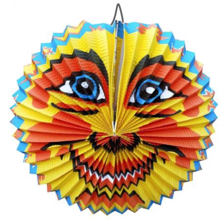 Lampion Slunce - kulatý, 28 cm
