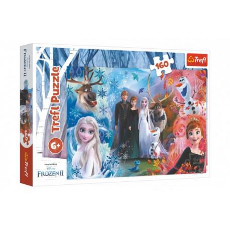 Puzzle - Ledové království/Frozen, 160 dílků