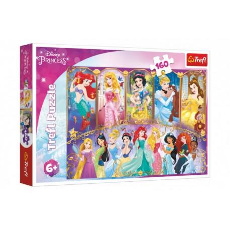 Puzzle - Portréty princezen, 160 dílků