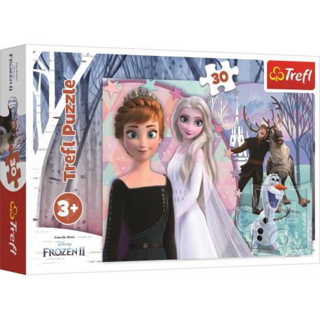 Puzzle - Ledové království/Frozen, 30 dílků