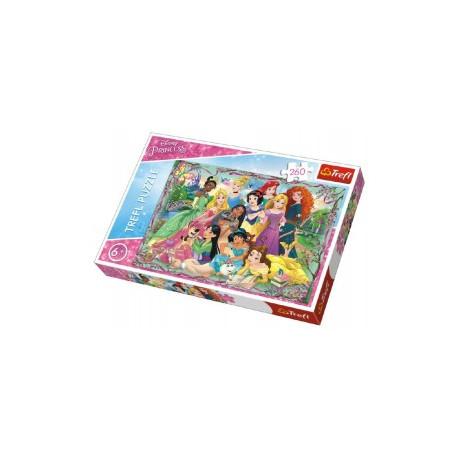 Puzzle - Disney  Princezny, 260 dílků