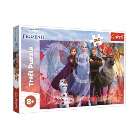 Puzzle - Ledové království/Frozen, 260 dílků