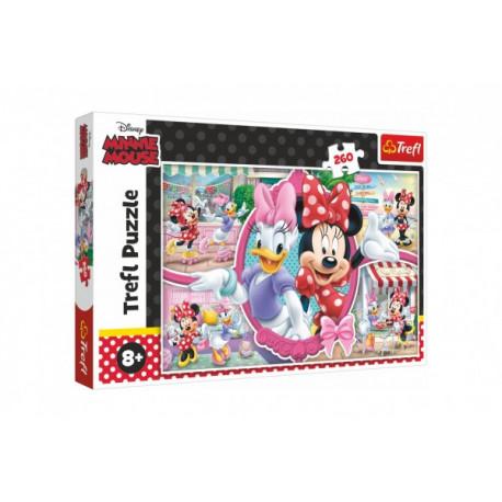Puzzle - Disney Minnie a Daisy, 260 dílků