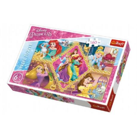 Puzzle - Disney Princezny koláž, 160 dílků