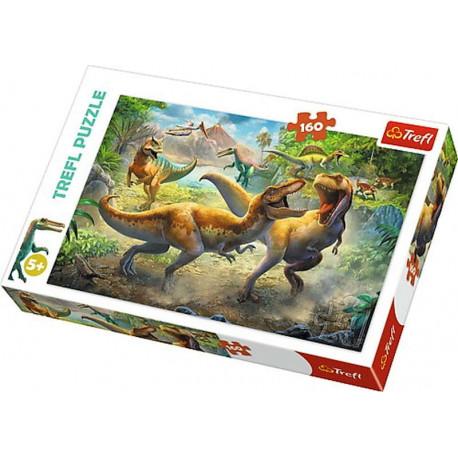 Puzzle - Dinosauři/Tyranosaurus,  160 dílků