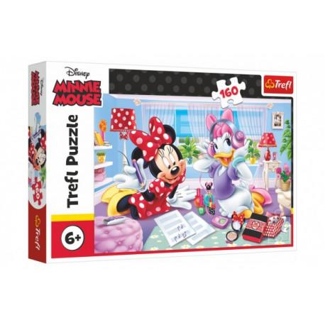 Puzzle - Minnie den s nejlepšími přáteli, 160 dílků