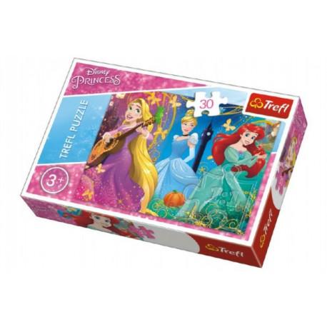 Puzzle - Disney Princezny, 30 dílků