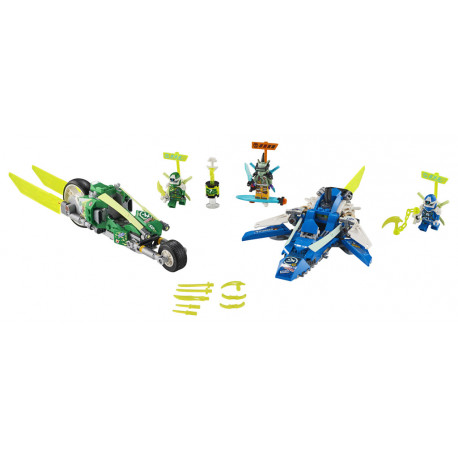 Lego Ninjago - Rychlá jízda s Jayem a Lloydem