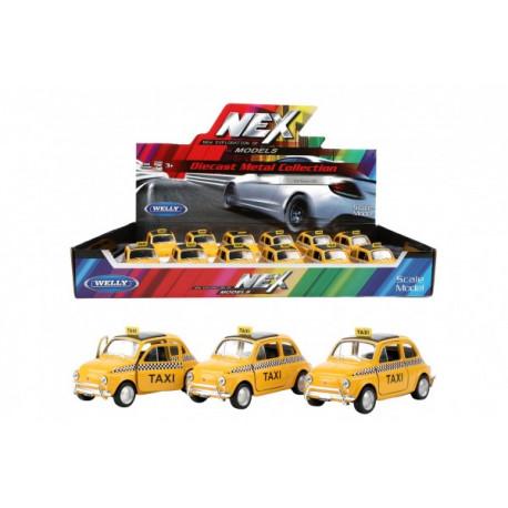 Auto Taxi Fiat Nuova 500 - kovové