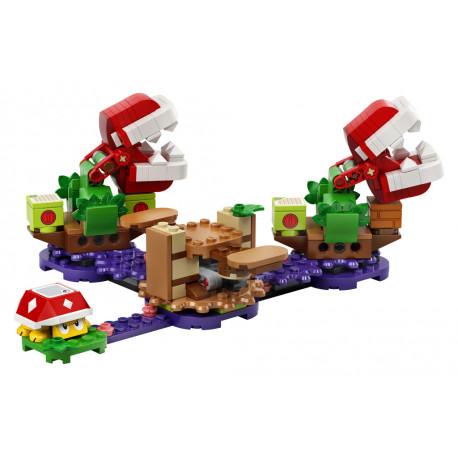 Lego Super Mario - Hlavolam s piraňovou rostlinou