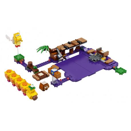 Lego Super Mario - Wiggler a jedovatá bažina