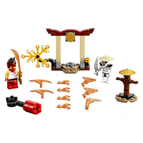 Lego Ninjago - Epický souboj Kai vs. Skulki