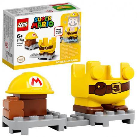 Lego Mario - Obleček stavitele, vylepšení pro Maria