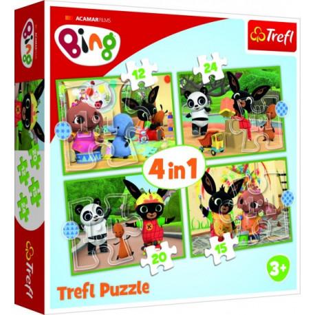 Puzzle - Bing, 4 v 1