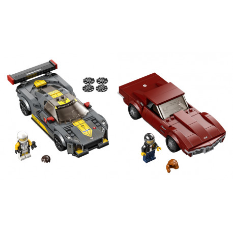 LEGO Speed Champions - 76903 Chevrolet Corvette C8.R a 1968 Chevrolet Corvette