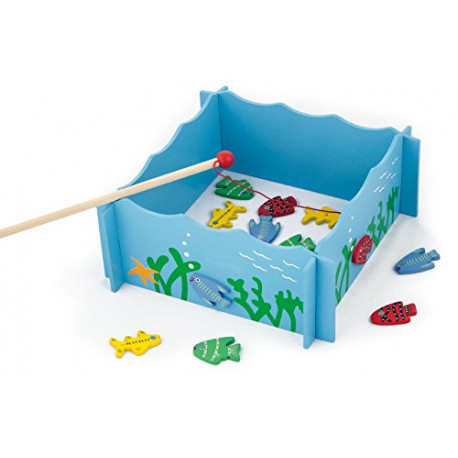 Rybaření/Rybolov - dřevěný na magnet