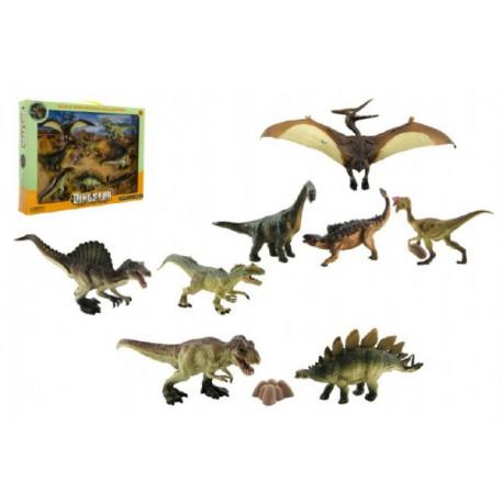 Dinosauři - sada v krabici, 8 kusů