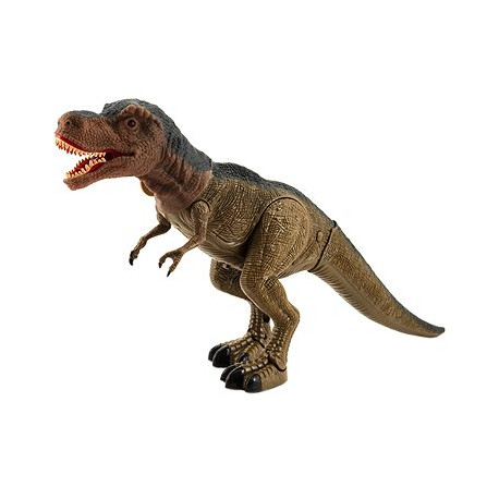 Dinosaurus Tyranosaurus chodící - světlo, zvuk