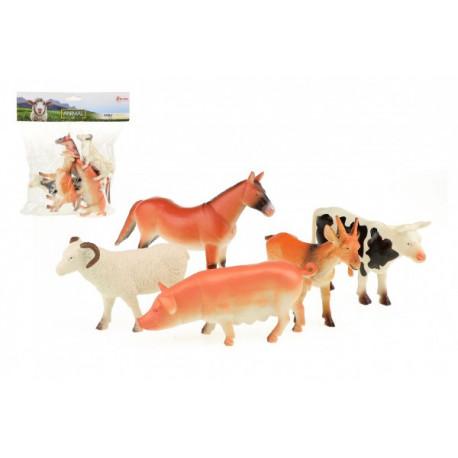 Zvířátka - Farma/Domácí, 5 kusů v sáčku