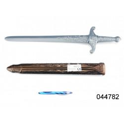 Meč se zlatou pochvou - 60 cm, plastový