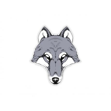 Maska papírová - Vlk