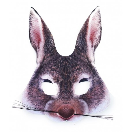 Maska zajíc - dětská
