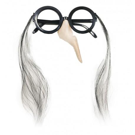 Brýle s nosem - čarodějnické