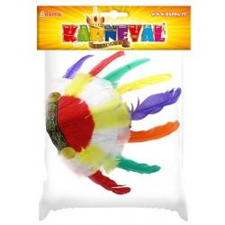 Indiánská čelenka barevná - dětská
