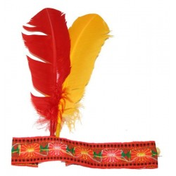 Indiánská čelenka Rybana