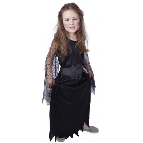 Kostým čarodějnice černá - velikost S