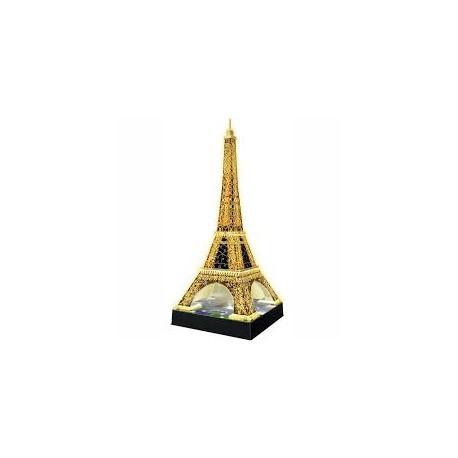 3D puzzle - Eiffelova věž noční edice