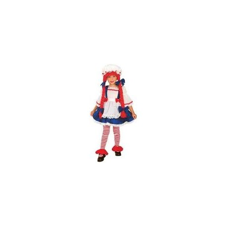 kostým pippi dlouhá punčocha - velikost S