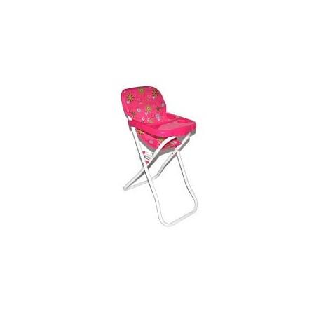 Židlička pro panenky - kov/plast